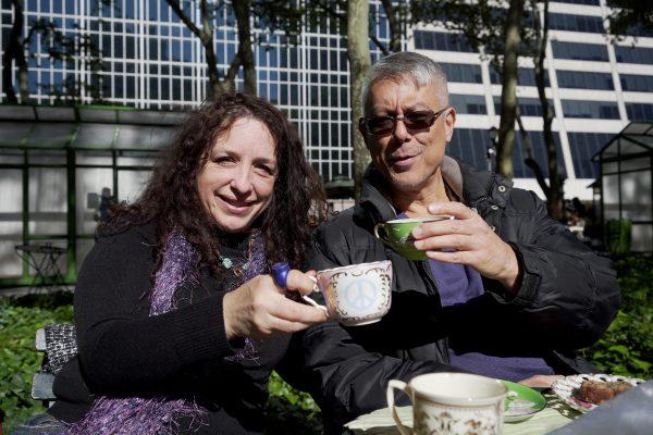 Liz Gannon-Graydon with a guest