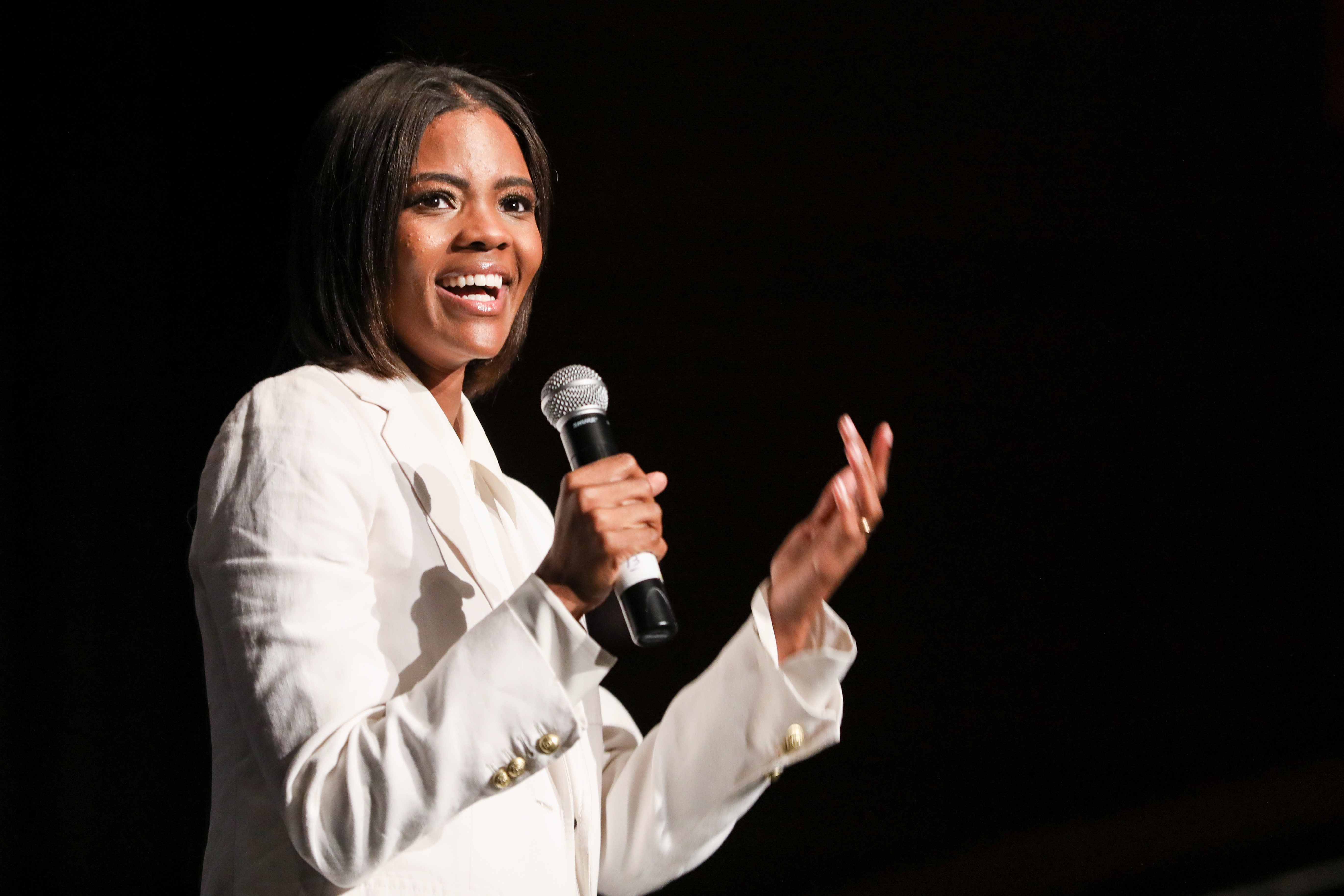 Candace Owens, leader of Blexit
