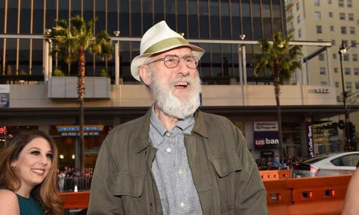 Actor James Cromwell attends the premiere of Open Road Films' 'The Promise' at TCL Chinese Theatre in Hollywood, California on April 12, 2017. (Photo by Kevork Djansezian/Getty Images)