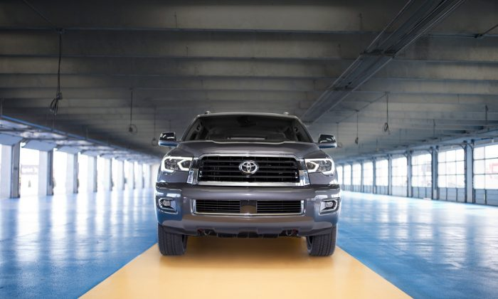 2018 Toyota Sequoia TRD Sport. (Courtesy of Toyota)