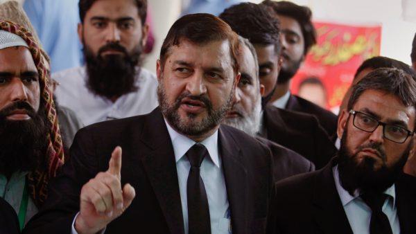 Pakistani lawyers contesting case Bibi