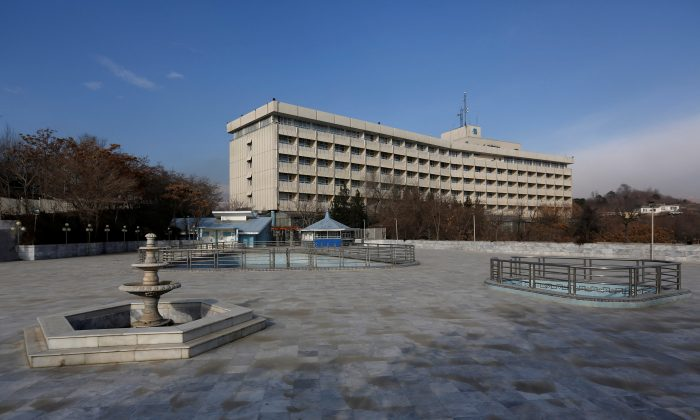 View of the Intercontinental Hotel in Kabul, Afghanistan, January 25, 2016. Picture taken on Jan. 25, 2016. (Reuters/Mohammad Ismail/File Photo)