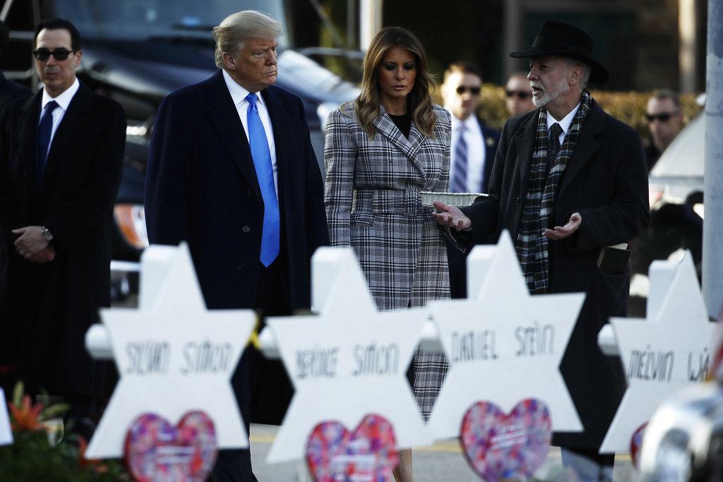 Tree of Life rabbi meets with Trump