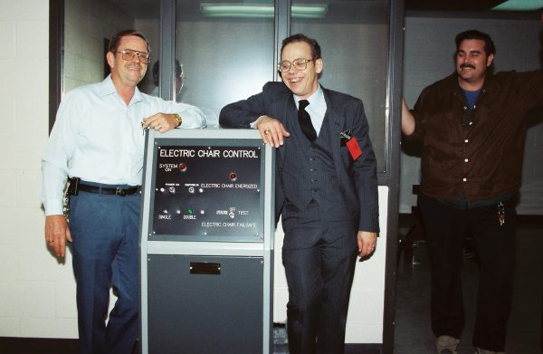 electric chair maker Fred Leuchter and officials