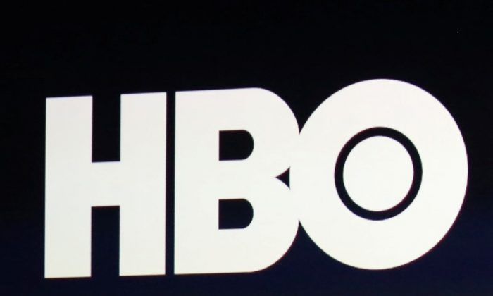 HBO logo is on display during an Apple event in San Francisco, on March 9, 2015. (Robert Galbraith/File Photo/Reuters)