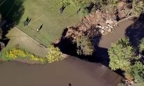 Video: Prestonwood Lake Dam Collapse 'Imminent' as Water Spills Over the Top