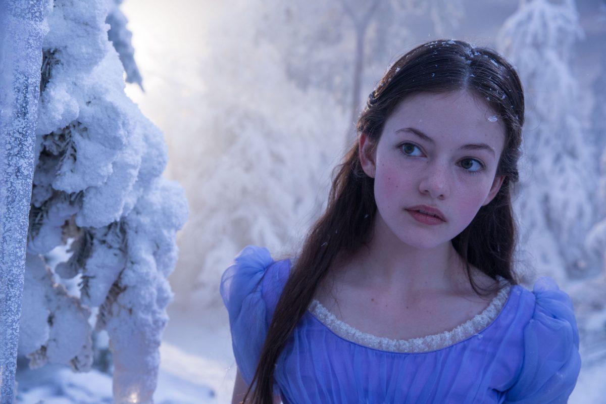 McKenzie For in a winter scene