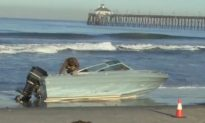 Illegal Immigrants Arrested After Coming Ashore at Imperial Beach in San Diego