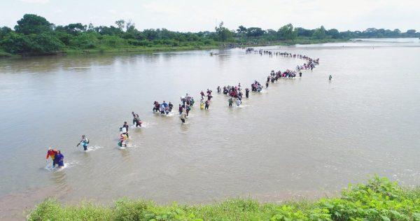 Fourth migrant caravan enters mexico