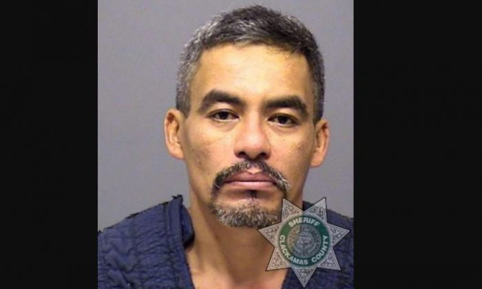 An illegal immigrant in Oregon was arrested on Oct. 30, 2018 for allegedly killing his wife seven months after being released by the local sheriff's office, Immigration and Customs Enforcement said. (Clackamas County Sheriff's Office)