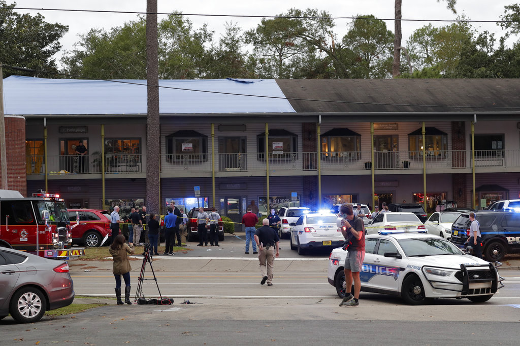 police investigate yoga shooting in Florida