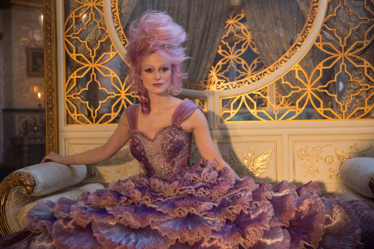 Keira Knightly purple hair
