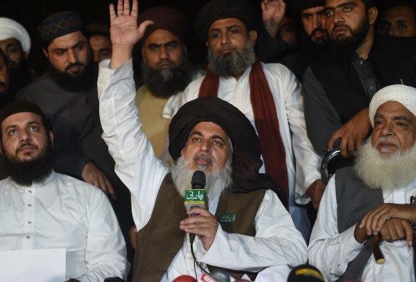 Khadim Hussain Rizvi Tehreek Labaik