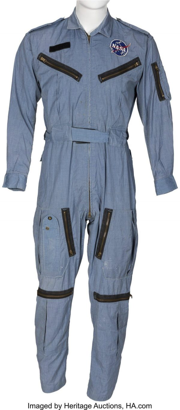 flight suit Neil Armstrong