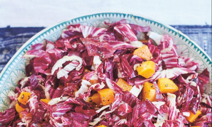 Radicchio and roasted squash salad. (David Loftus)