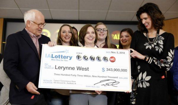Powerball winner Lerynne West