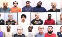 Police Arrested 20 After 4-day Child Sex Sting Operation