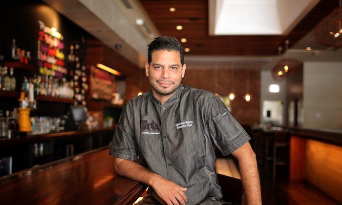 Giancarlo Valera, executive chef, Tanta. (Mistey Nguyen)