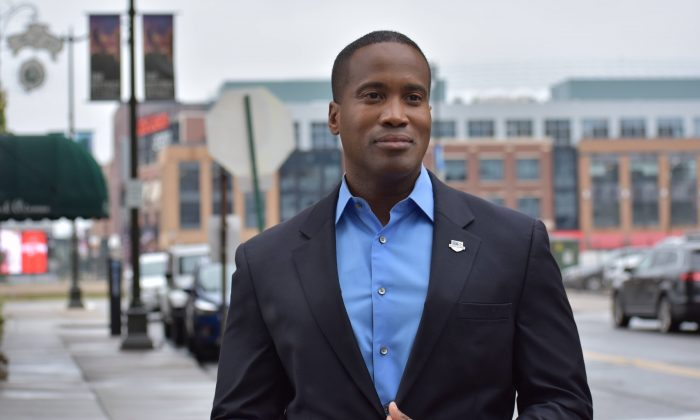 Republican Senate candidate in Michigan John James. (John James for Senate)