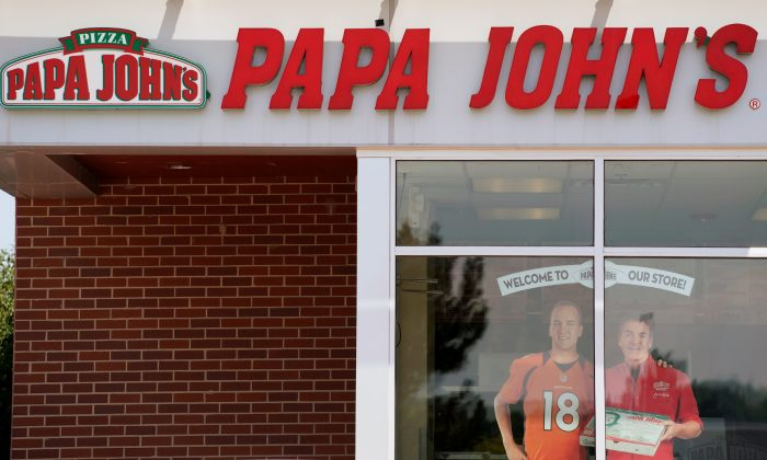 The Papa John's store in Westminster, Colorado, on Aug. 1, 2017.  (Rick Wilking/File Photo/Reuters)