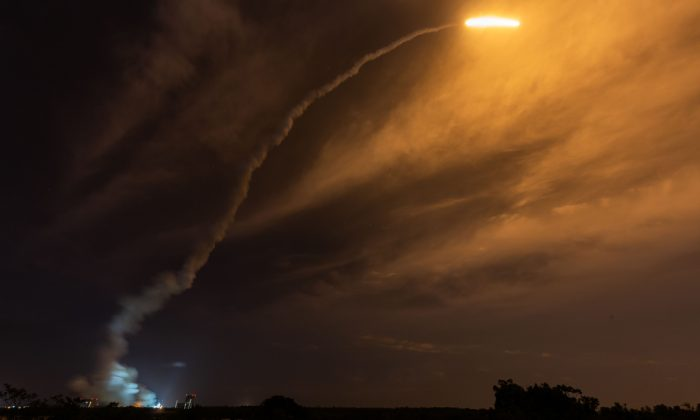 Launch of the BepiColombo mission. (JODY AMIET/AFP/Getty Images)