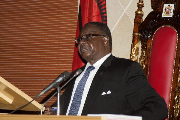 Malawi's President Peter Mutharika.