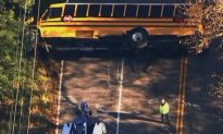 School Bus Crashes in Maryland, Injuries Reported