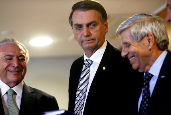 Brazil's President-elect Jair Bolsonaro