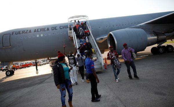 Haitian migrants return to Chile