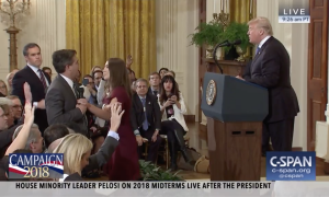 Video Contradicts CNN and NY Times Claims About Acosta Incident