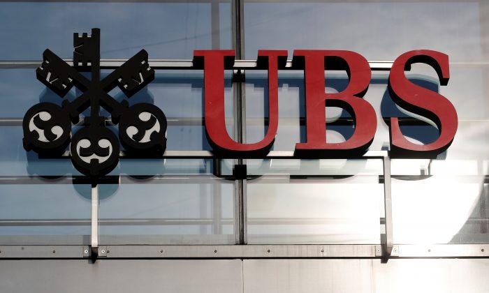 The logo of Swiss bank UBS is seen in Zurich, Switzerland October 25, 2018. (Arnd Wiegmann/Reuters)