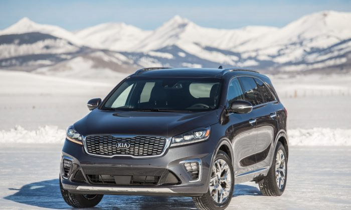 2019 Kia Sorento. (Courtesy of Kia)