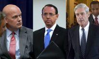 Acting AG Whitaker, Mueller's Investigation, and the Rosenstein Memo