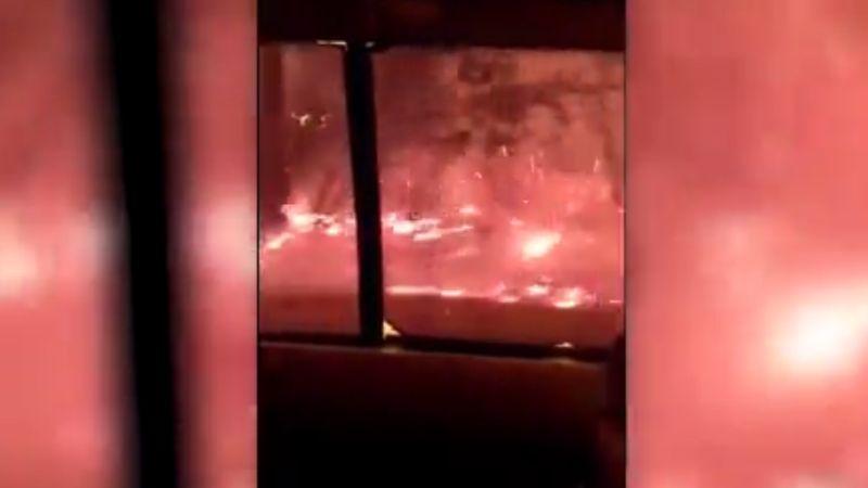 camp fire in california