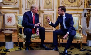 The Latest: WWI Centennial: Macron Backs European Army Idea
