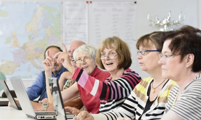 A new study funded by the Centre for Aging and Brain Health Innovation will investigate the use of learning technologies such as streaming media for people with dementia and those at risk. (Shutterstock)