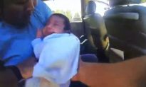 Video: Police Chief Saves Baby's Life After He Stops Breathing