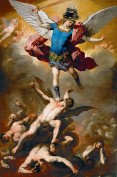 St. Michael defeating the fallen angels