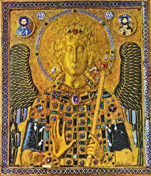 St. Michael gold icon