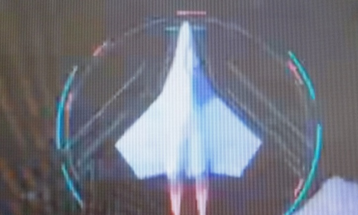 A possible Chinese concept for a 6th generation fighter jet is shown in an Aviation Industries Corporation of China (AVIC) video. (AVIC)