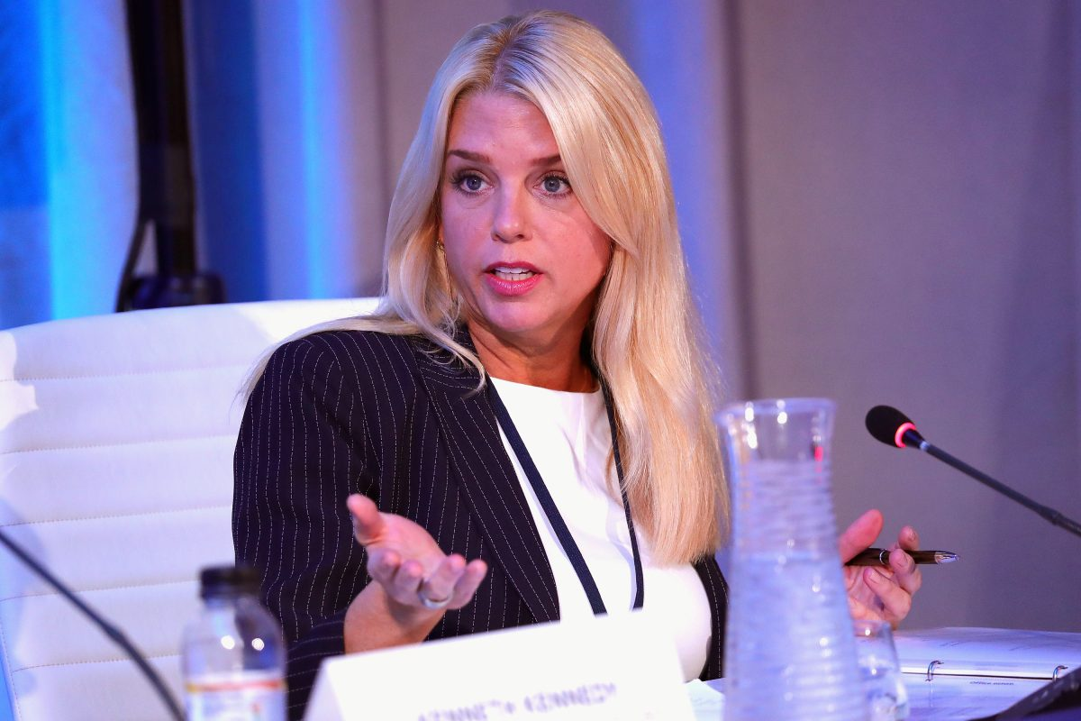 Pam Bondi, Florida attorney general, in New York