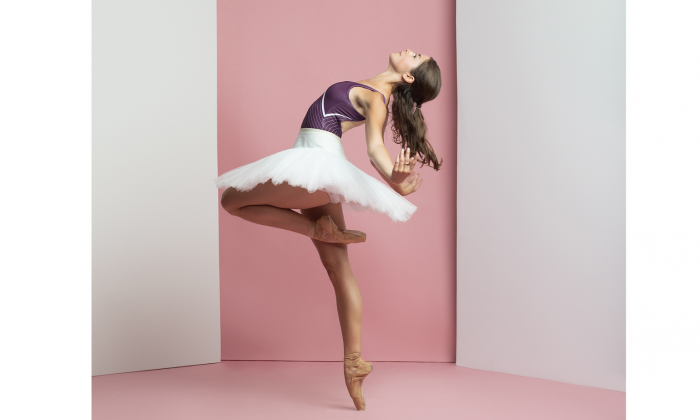 Canadian ballet dancer Meghan Pugh. (Karolina Kuras)