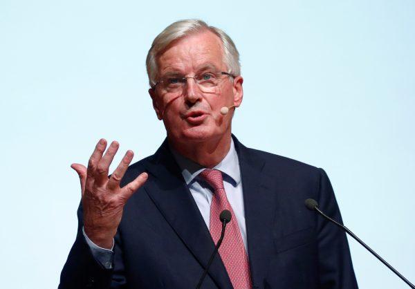 Michel Barnier speaks