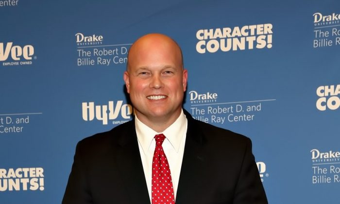 Matt Whitaker in April 2015. (The Ray Center - CHARACTER COUNTS!/Flickr [CC BY 2.0 (ept.ms/2haHp2Y)])