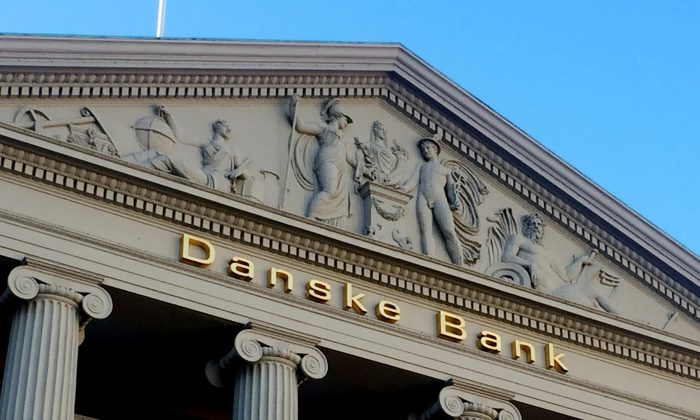 The Danske Bank building in Copenhagen, Denmark, on Sept. 27, 2018. (Jacob Gronholt-Pedersen/File Photo/Reuters)