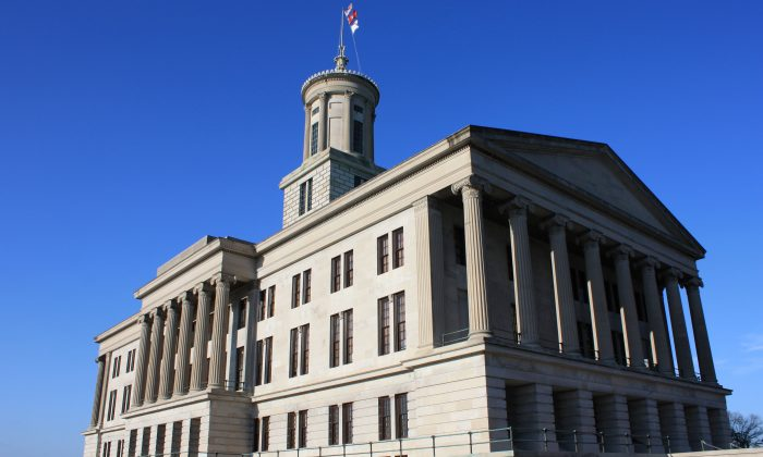 The Tennessee State Capitol in Nashville, Tenn., on March 1, 2009. (Public Domain)