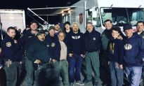 Guy Fieri Makes Surprise Visit to Serve Dinner to Firefighters Battling Camp Fire