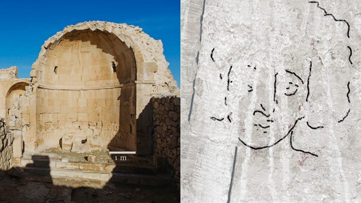 jesus face painting in byzantine