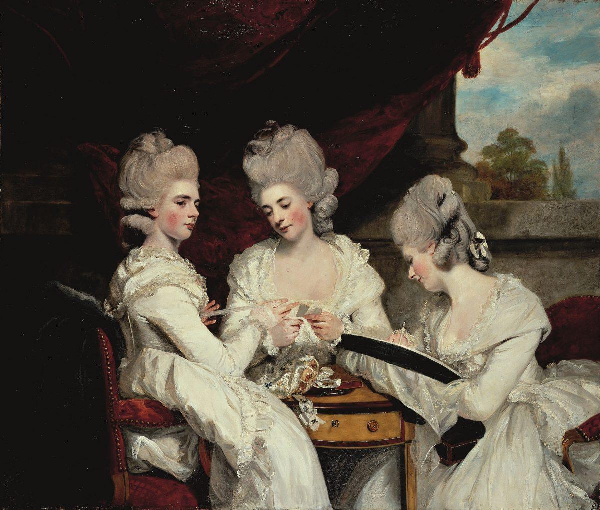 Joshua Reynolds Horace Walpoles Ladies Waldegrave