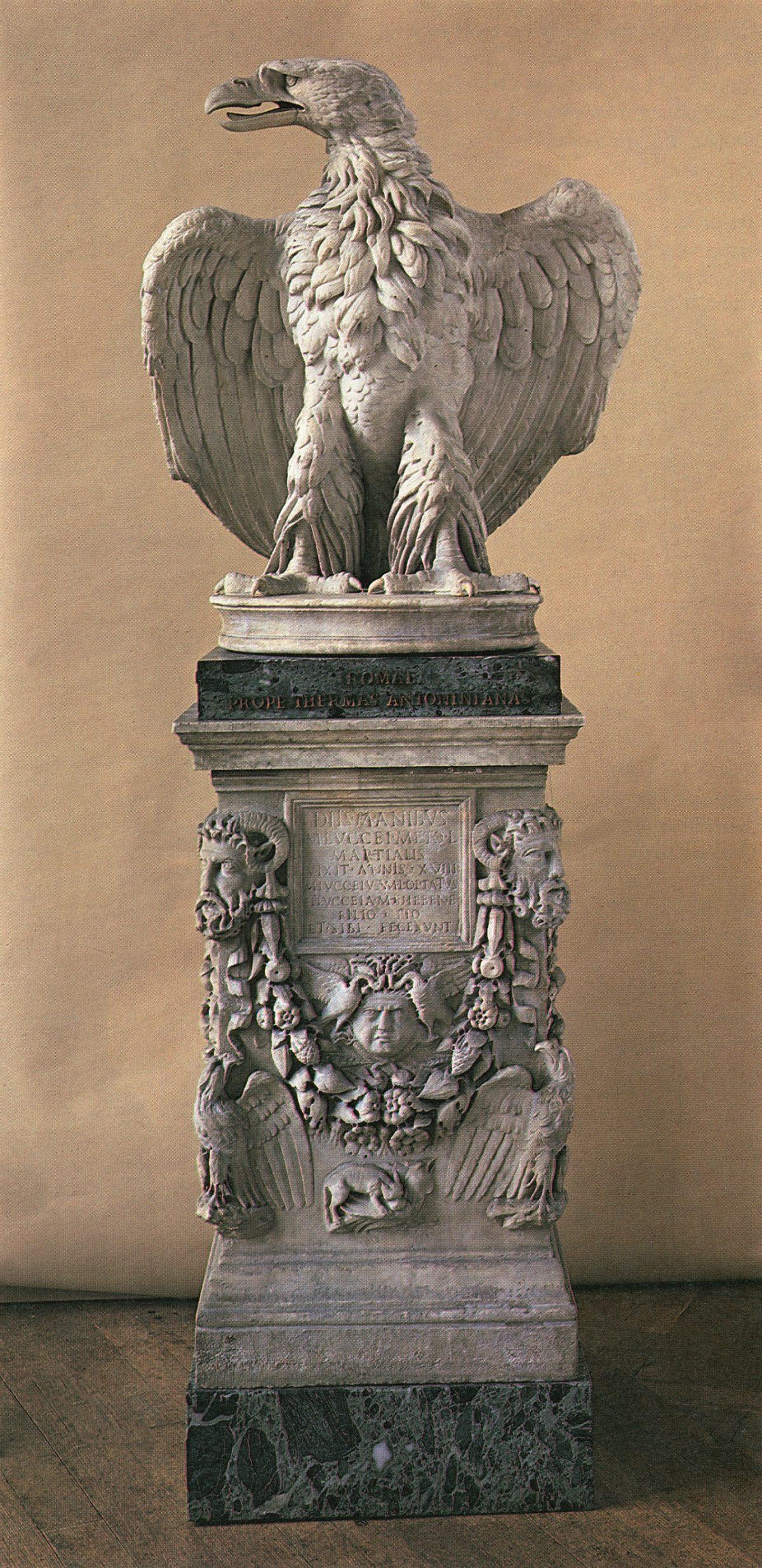 Roman Eagle Marble